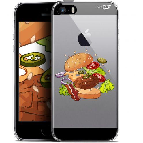 "Coque Gel Apple iPhone 5/5s/SE (4"") Extra Fine Motif -  Splash Burger"