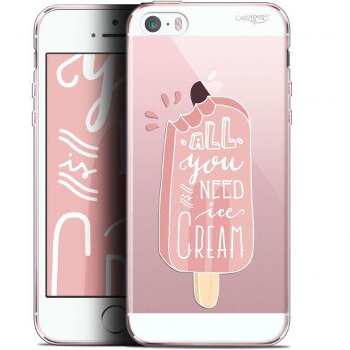 """Coque Gel Apple iPhone 5/5s/SE (4"""") Extra Fine Motif -  Ice Cream"""