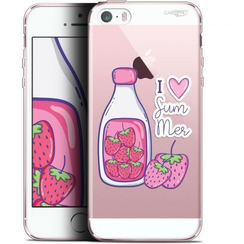 "Coque Gel Apple iPhone 5/5s/SE (4"") Extra Fine Motif -  Milky Summer"