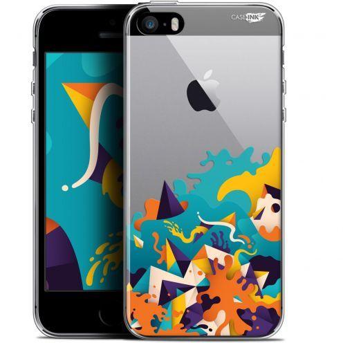 """Coque Gel Apple iPhone 5/5s/SE (4"""") Extra Fine Motif -  Les Vagues"""