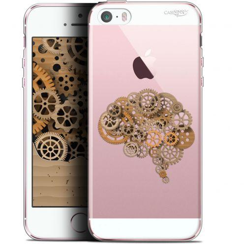 """Coque Gel Apple iPhone 5/5s/SE (4"""") Extra Fine Motif - Mécanismes du Cerveau"""