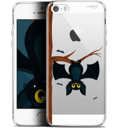 """Coque Gel Apple iPhone 5/5s/SE (4"""") Extra Fine Motif - Petite Chauve Souris"""