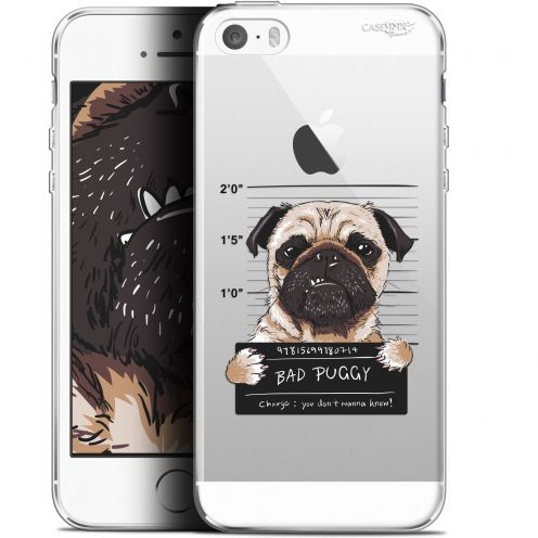 "Coque Gel Apple iPhone 5/5s/SE (4"") Extra Fine Motif -  Beware The Puggy Dog"