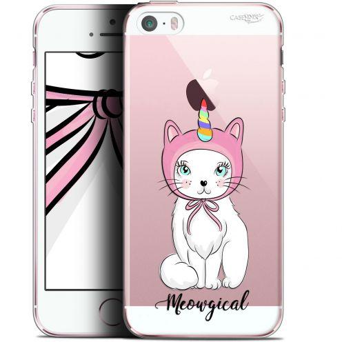 "Coque Gel Apple iPhone 5/5s/SE (4"") Extra Fine Motif - Ce Chat Est MEOUgical"