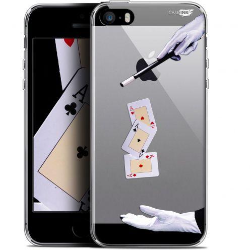 "Coque Gel Apple iPhone 5/5s/SE (4"") Extra Fine Motif -  Cartes Magiques"