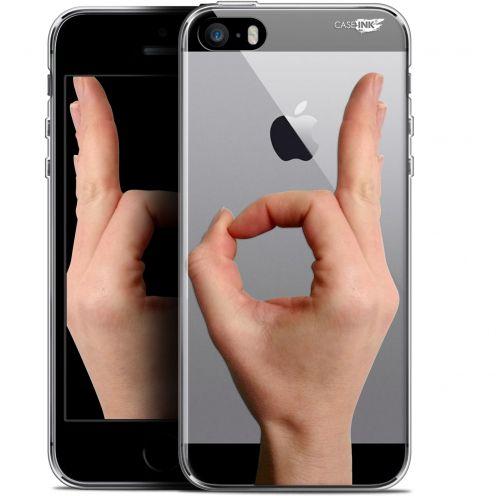 "Coque Gel Apple iPhone 5/5s/SE (4"") Extra Fine Motif -  Le Jeu du Rond"