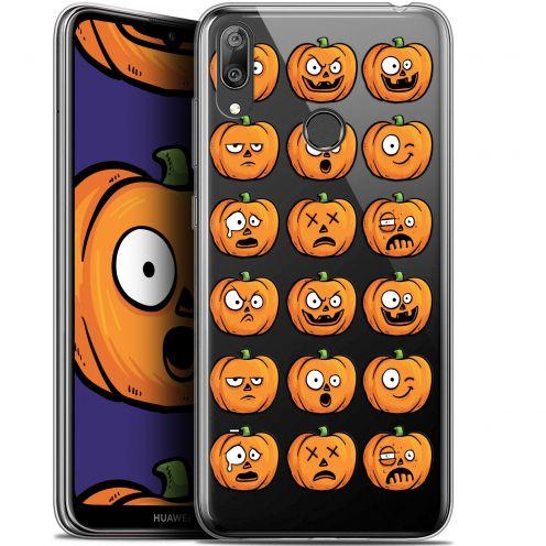 "Coque Gel Huawei Y7 / Prime / Pro 2019 (6.26"") Extra Fine Halloween - Cartoon Citrouille"