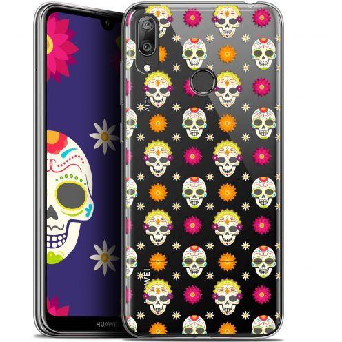 """Coque Gel Huawei Y7 / Prime / Pro 2019 (6.26"""") Extra Fine Halloween - Skull Halloween"""