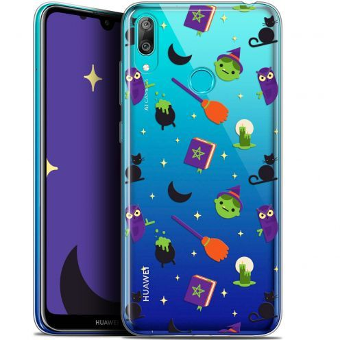 "Coque Gel Huawei Y7 / Prime / Pro 2019 (6.26"") Extra Fine Halloween - Witch Potter"