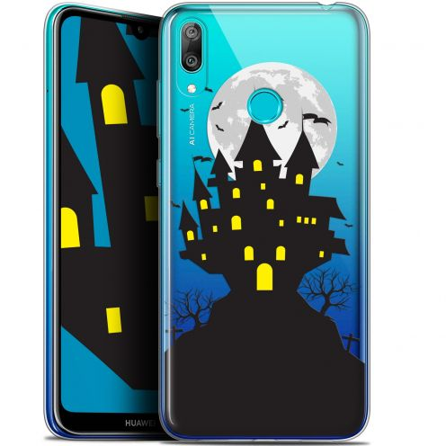 "Coque Gel Huawei Y7 / Prime / Pro 2019 (6.26"") Extra Fine Halloween - Castle Scream"