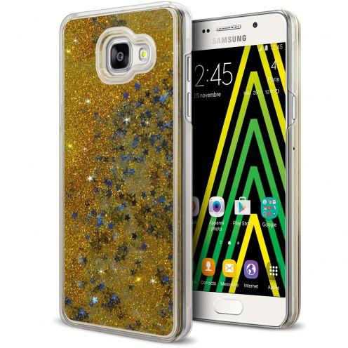 Coque Crystal Glitter Liquid Diamonds Or Samsung Galaxy A5 2016 (A510)