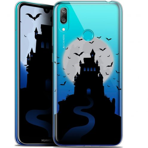 "Coque Gel Huawei Y7 / Prime / Pro 2019 (6.26"") Extra Fine Halloween - Castle Nightmare"
