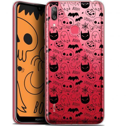 "Coque Gel Huawei Y7 / Prime / Pro 2019 (6.26"") Extra Fine Halloween - Spooky"