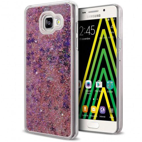 Coque Crystal Glitter Liquid Diamonds Rose Samsung Galaxy A5 2016 (A510)