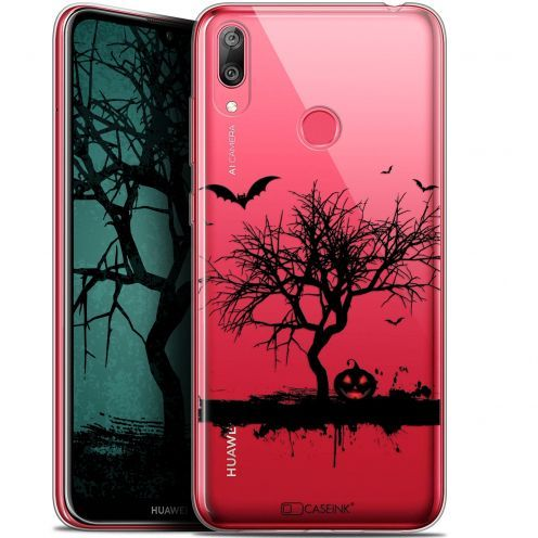 "Coque Gel Huawei Y7 / Prime / Pro 2019 (6.26"") Extra Fine Halloween - Devil's Tree"