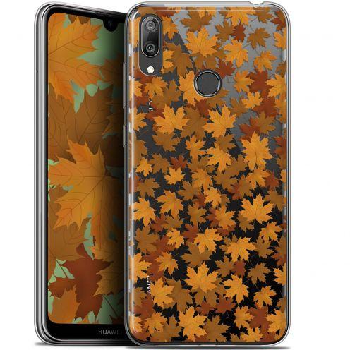 "Coque Gel Huawei Y7 / Prime / Pro 2019 (6.26"") Extra Fine Autumn 16 - Feuilles"
