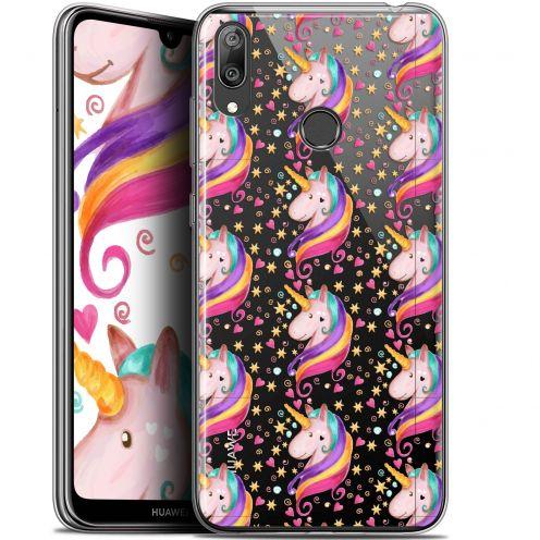 """Coque Gel Huawei Y7 / Prime / Pro 2019 (6.26"""") Extra Fine Fantasia - Licorne Etoilée"""