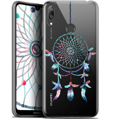 """Coque Gel Huawei Y7 / Prime / Pro 2019 (6.26"""") Extra Fine Dreamy - Attrape Rêves Rainbow"""