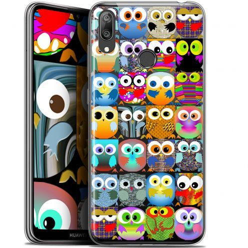 "Coque Gel Huawei Y7 / Prime / Pro 2019 (6.26"") Extra Fine Claude - Hibous"