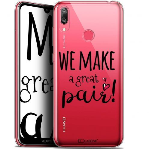 """Coque Gel Huawei Y7 / Prime / Pro 2019 (6.26"""") Extra Fine Love - We Make Great Pair"""