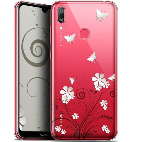 """Coque Gel Huawei Y7 / Prime / Pro 2019 (6.26"""") Extra Fine Summer - Papillons"""