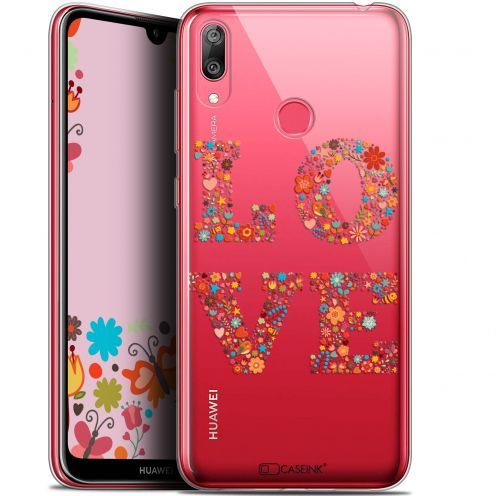 "Coque Gel Huawei Y7 / Prime / Pro 2019 (6.26"") Extra Fine Summer - Love Flowers"