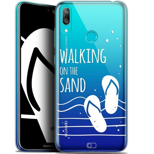 "Coque Gel Huawei Y7 / Prime / Pro 2019 (6.26"") Extra Fine Summer - Walking on the Sand"