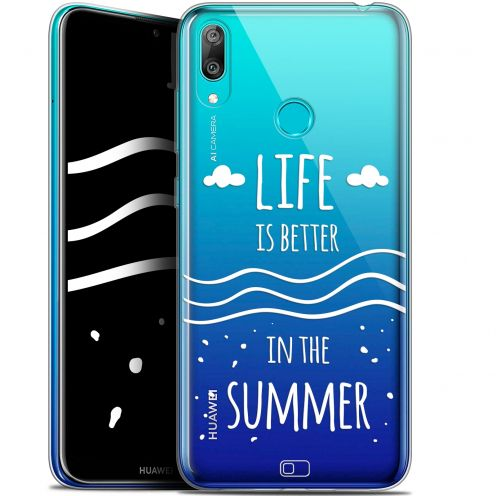 """Coque Gel Huawei Y7 / Prime / Pro 2019 (6.26"""") Extra Fine Summer - Life's Better"""