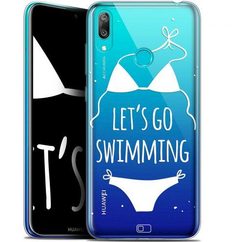 "Coque Gel Huawei Y7 / Prime / Pro 2019 (6.26"") Extra Fine Summer - Let's Go Swim"