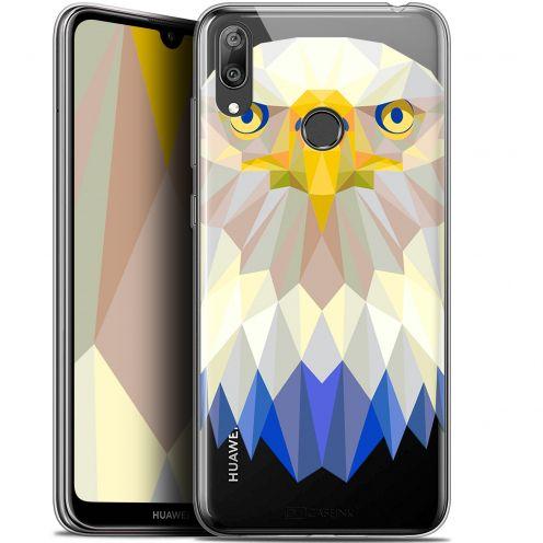 "Coque Gel Huawei Y7 / Prime / Pro 2019 (6.26"") Extra Fine Polygon Animals - Aigle"