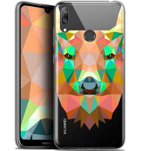 """Coque Gel Huawei Y7 / Prime / Pro 2019 (6.26"""") Extra Fine Polygon Animals - Cerf"""