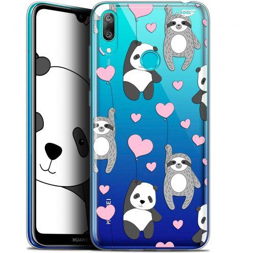 "Coque Gel Huawei Y7 / Prime / Pro 2019 (6.26"") Extra Fine Motif -  Panda'mour"