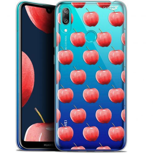 "Coque Gel Huawei Y7 / Prime / Pro 2019 (6.26"") Extra Fine Motif -  Cerises"
