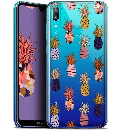 "Coque Gel Huawei Y7 / Prime / Pro 2019 (6.26"") Extra Fine Motif -  Ananas Gold"