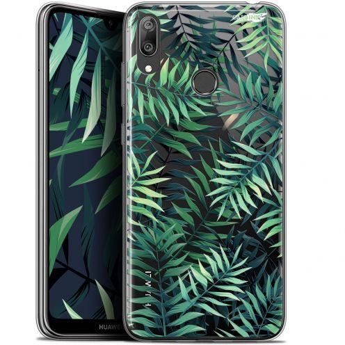 """Coque Gel Huawei Y7 / Prime / Pro 2019 (6.26"""") Extra Fine Motif - Feuilles des Tropiques"""