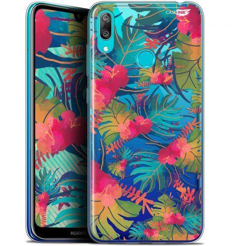 """Coque Gel Huawei Y7 / Prime / Pro 2019 (6.26"""") Extra Fine Motif - Couleurs des Tropiques"""