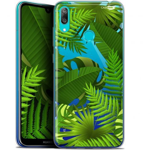 """Coque Gel Huawei Y7 / Prime / Pro 2019 (6.26"""") Extra Fine Motif - Plantes des Tropiques"""