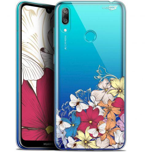 """Coque Gel Huawei Y7 / Prime / Pro 2019 (6.26"""") Extra Fine Motif -  Nuage Floral"""