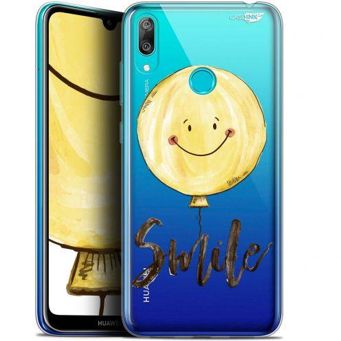 "Coque Gel Huawei Y7 / Prime / Pro 2019 (6.26"") Extra Fine Motif -  Smile Baloon"