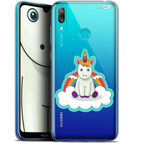 "Coque Gel Huawei Y7 / Prime / Pro 2019 (6.26"") Extra Fine Motif - Bébé Licorne"