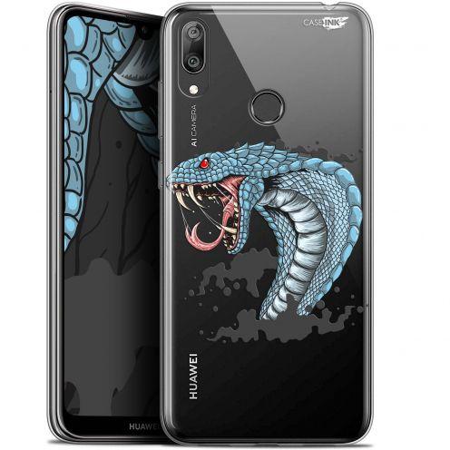 "Coque Gel Huawei Y7 / Prime / Pro 2019 (6.26"") Extra Fine Motif -  Cobra Draw"