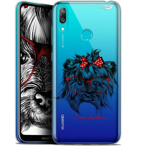 "Coque Gel Huawei Y7 / Prime / Pro 2019 (6.26"") Extra Fine Motif - Fashion Dog"
