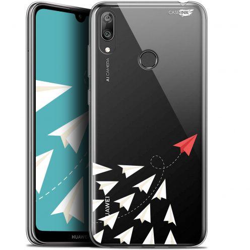 "Coque Gel Huawei Y7 / Prime / Pro 2019 (6.26"") Extra Fine Motif -  Papier Volant"