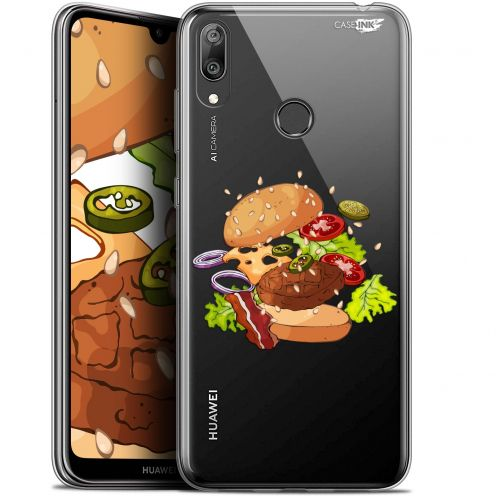"Coque Gel Huawei Y7 / Prime / Pro 2019 (6.26"") Extra Fine Motif - Splash Burger"