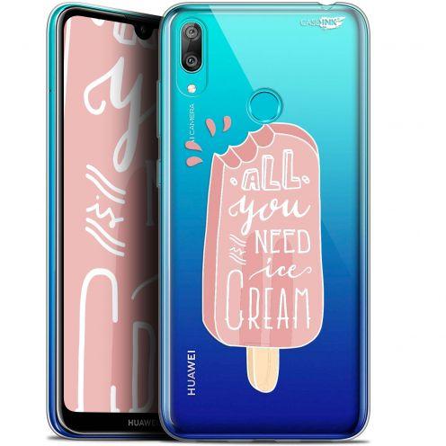 "Coque Gel Huawei Y7 / Prime / Pro 2019 (6.26"") Extra Fine Motif -  Ice Cream"