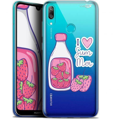 """Coque Gel Huawei Y7 / Prime / Pro 2019 (6.26"""") Extra Fine Motif - Milky Summer"""