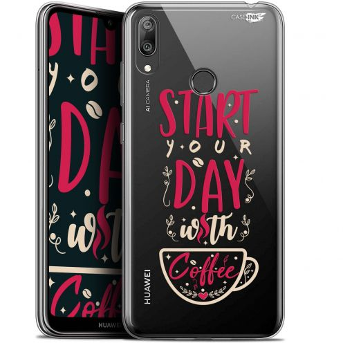 "Coque Gel Huawei Y7 / Prime / Pro 2019 (6.26"") Extra Fine Motif - Start With Coffee"
