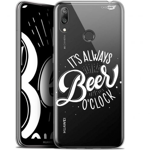 "Coque Gel Huawei Y7 / Prime / Pro 2019 (6.26"") Extra Fine Motif - Its Beer O'Clock"