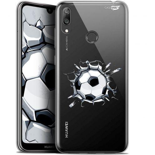"""Coque Gel Huawei Y7 / Prime / Pro 2019 (6.26"""") Extra Fine Motif - Le Balon de Foot"""