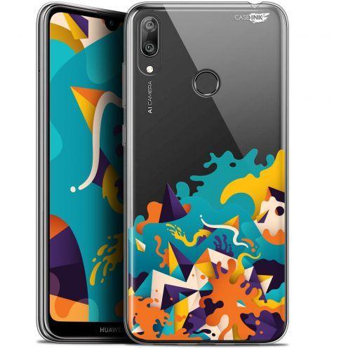 """Coque Gel Huawei Y7 / Prime / Pro 2019 (6.26"""") Extra Fine Motif - Les Vagues"""